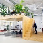 The air up there: mezzanine offices
