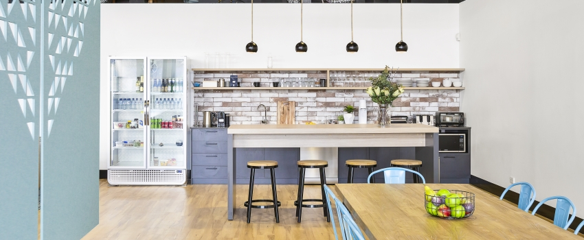 6 steps to designing a functional office kitchen